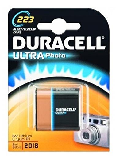 Duracell Duracell Dayanıklı Özel Yüksek Güçlü Lityum 6V 223 Fotoğraf Pili Renkli